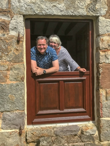 Ali and John, your hosts at Étoile du Nord - luxury Normandy gite (formerly known as Le Petit Lac)