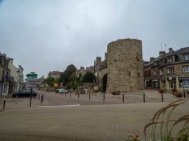 Domfront town centre